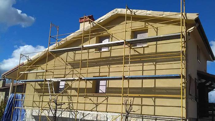 Aislamiento de fachadas.
